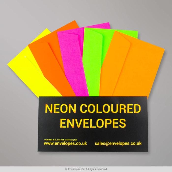 Neon Gekleurd Envelop - Flysheet