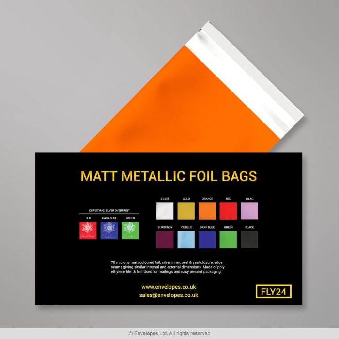 Buste in Lamina Metallica Opaca - Volantino con i Colori