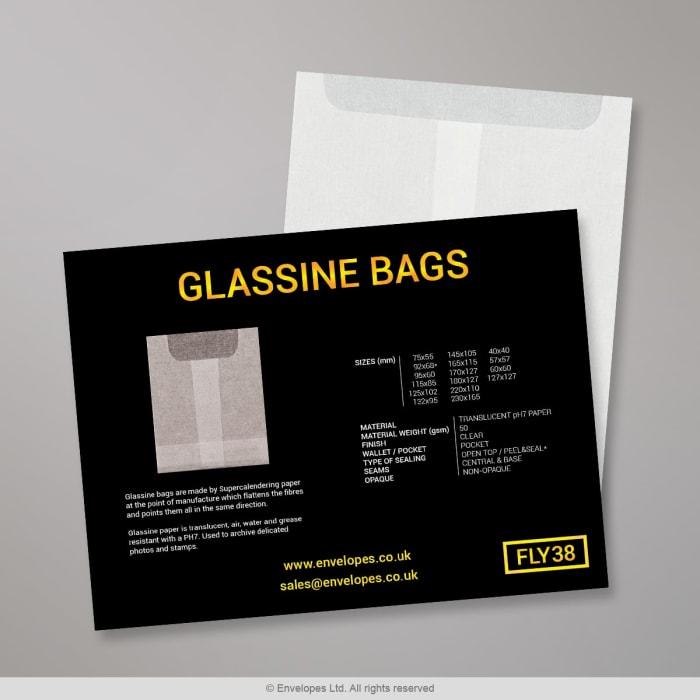 Sachets Glassine - Carte des couleurs