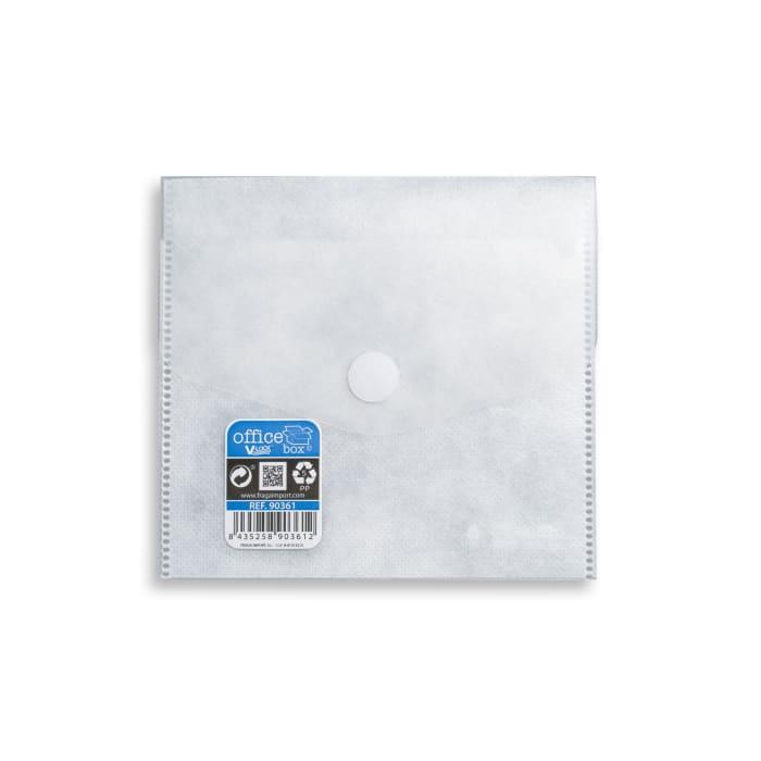 Polypropyleen CD-enveloppen met klittenbandsluiting V-LOCK