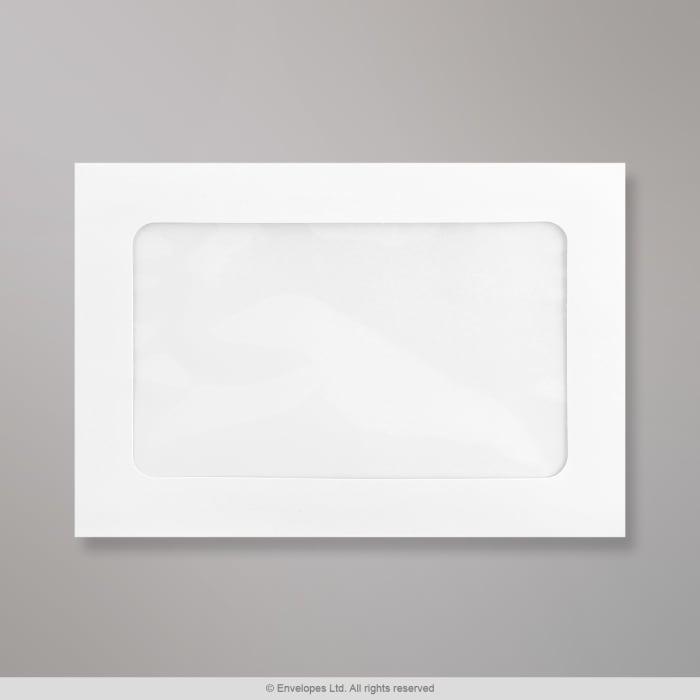 Konvolut med stort vindue 162x229 mm (C5)