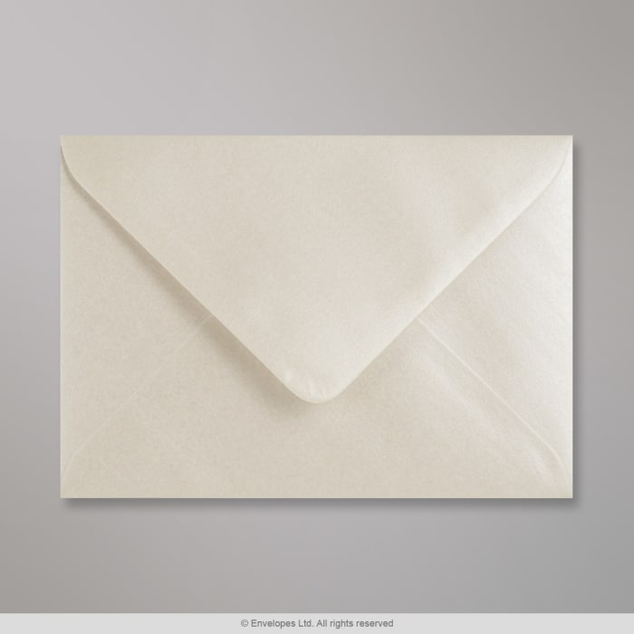 Enveloppe huitre brillante 114x162 mm (C6)