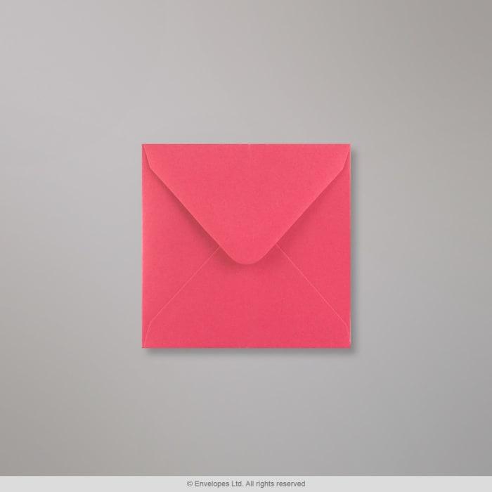 Clariana, kirkkaanvaaleanpunainen kirjekuori 110x110 mm