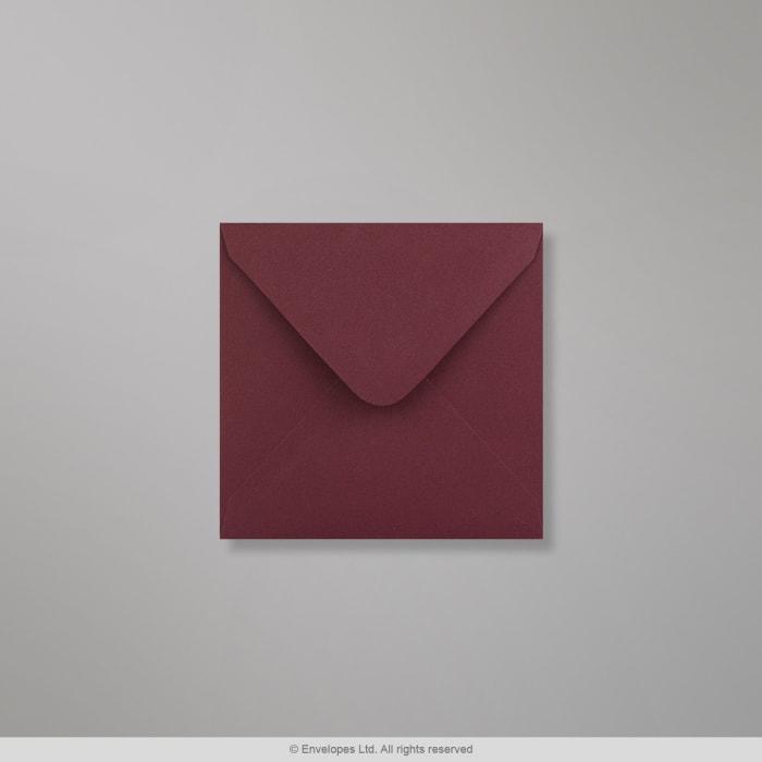 110x110 mm Clariana Burgundy Envelop