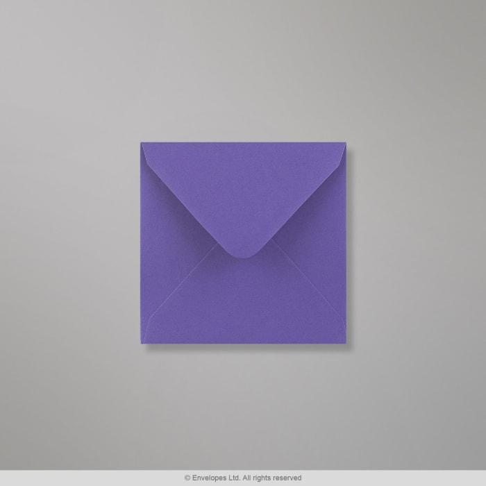 Violetter Clariana Briefumschlag 110x110 mm