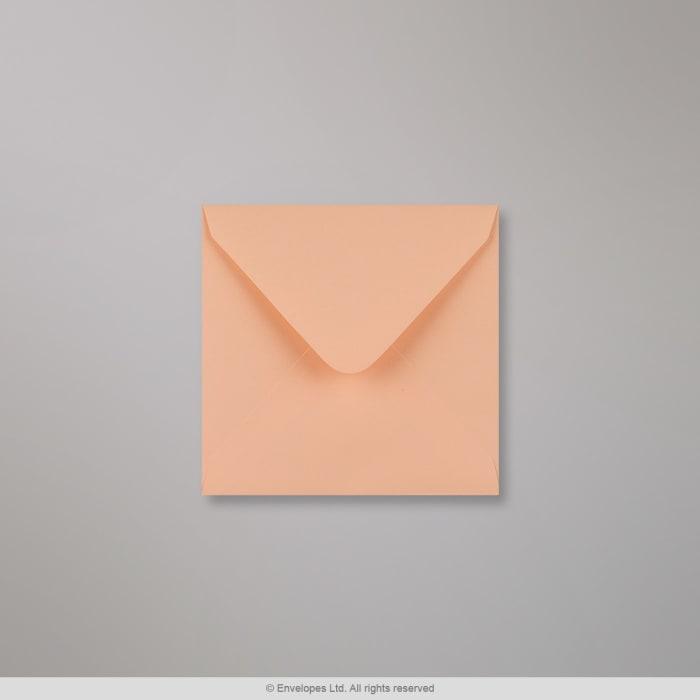 Enveloppe Clariana saumon rose 110x110 mm