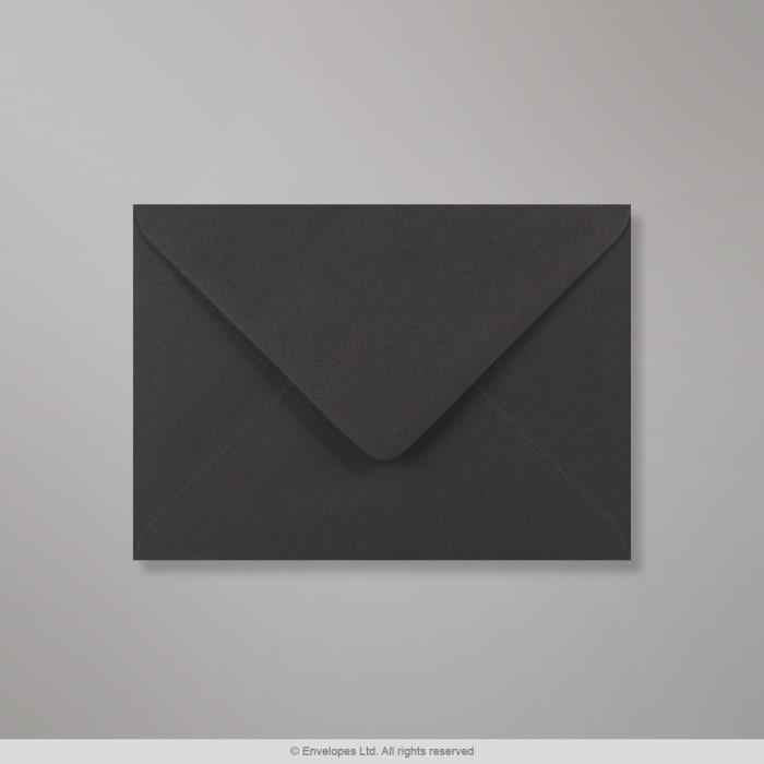 125x175 mm Clariana Zwart Envelop