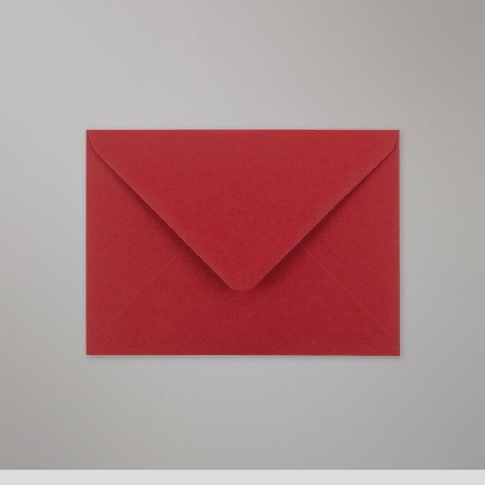 Enveloppe Clariana rouge foncée 125x175 mm