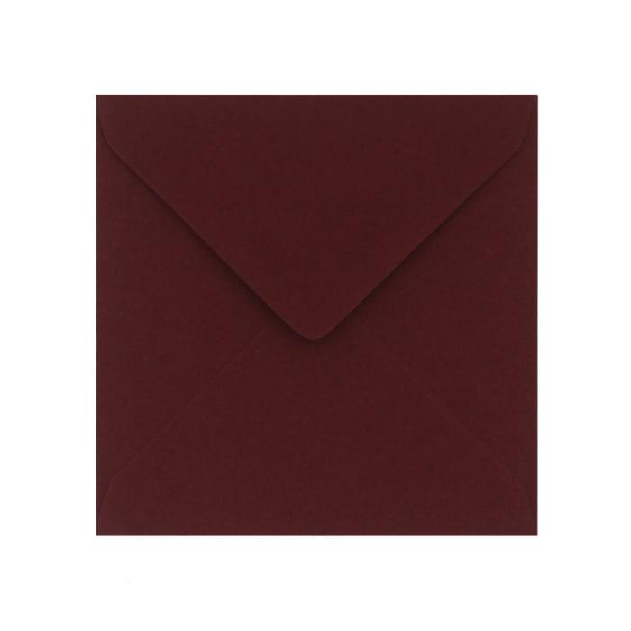 130x130 mm Clariana Burgundy Envelop