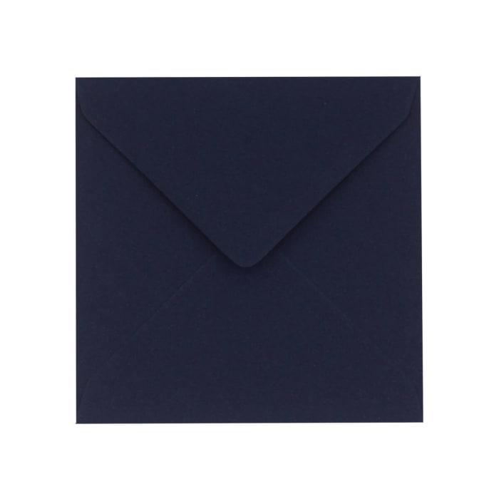 130x130 mm Clariana-mörkblå kuvert