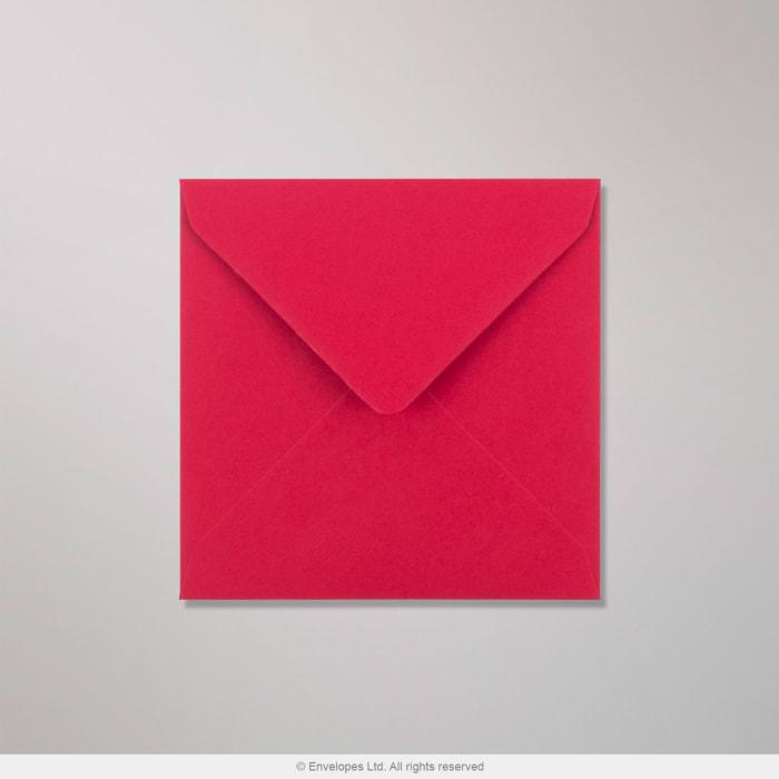 130x130 mm Clariana Donkerrood Envelop