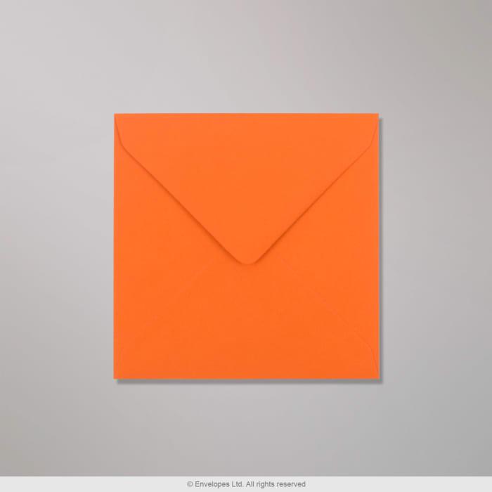 Enveloppe Clariana orange 130x130 mm