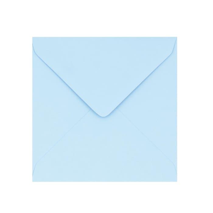 130x130 mm Pastelovo-modrá obálka Clariana