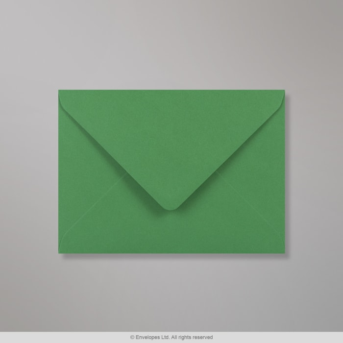 Sobre Clariana verde oscuro de 133x184 mm