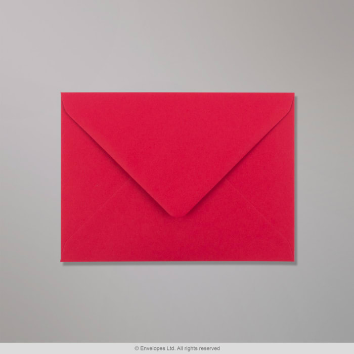 Sobre Clariana rojo oscuro de 133x184 mm