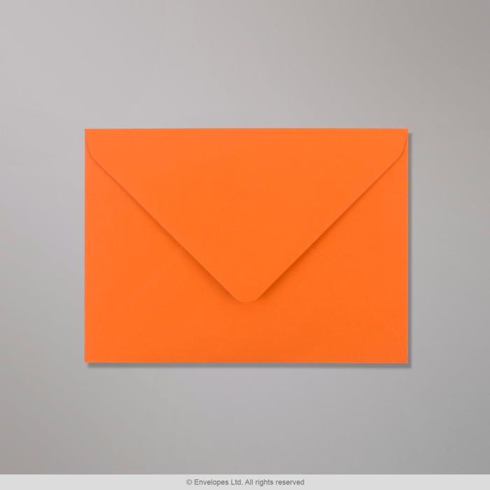 Orangefarbener Clariana Briefumschlag 133x184 mm