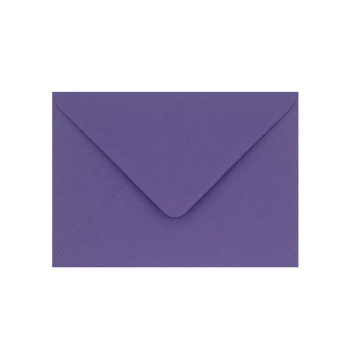 Enveloppe Clariana violette 133x184 mm