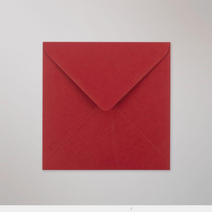 140x140 mm Clariana Donkerrood Envelop