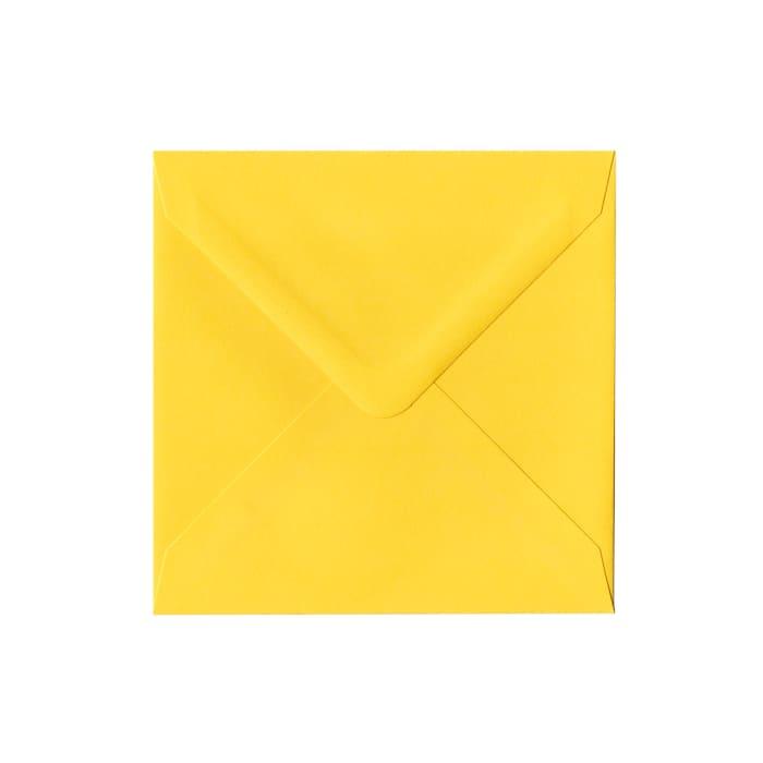 140x140 mm Koperta żółty Clariana