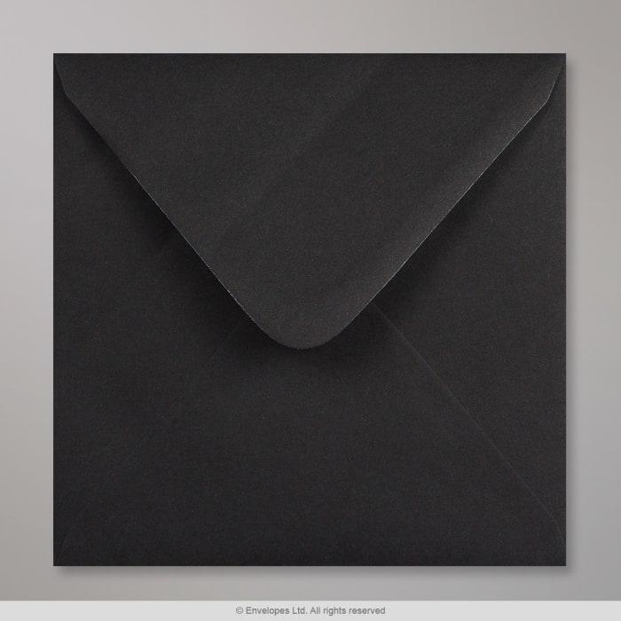 Enveloppe Clariana noire 155x155 mm