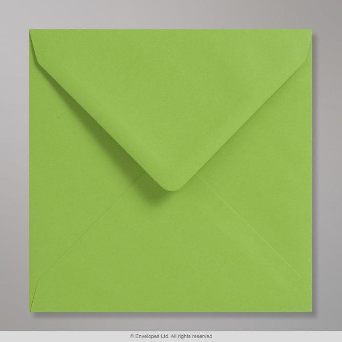 Sobre Clariana verde claro de 155x155 mm