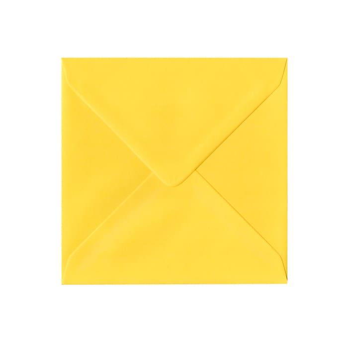 155x155 mm Koperta żółty Clariana
