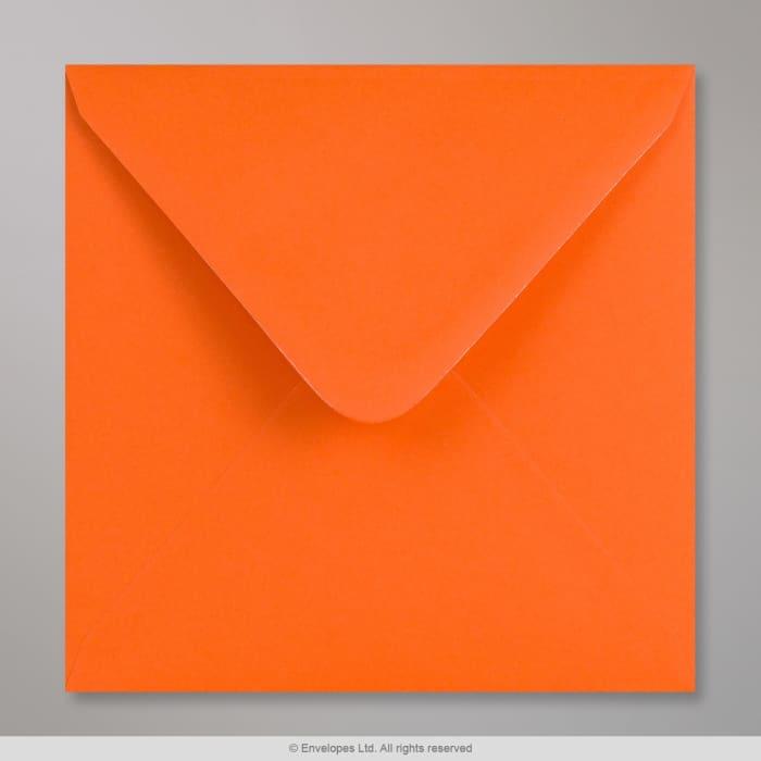 Sobre Clariana naranja de 155 x 155 mm