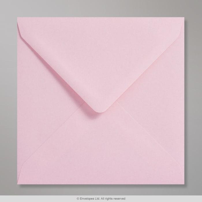 Sobre Clariana rosa pastel de 155x155 mm