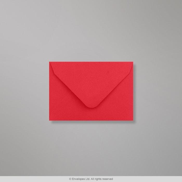 65x94 mm Svetločervená obálka Clariana