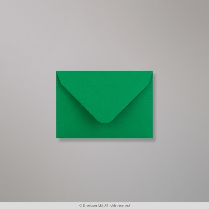 Sobre Clariana verde oscuro de 65x94 mm