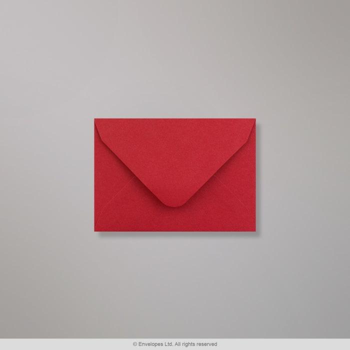 Clariana, tummanpunainen kirjekuori 65x94 mm