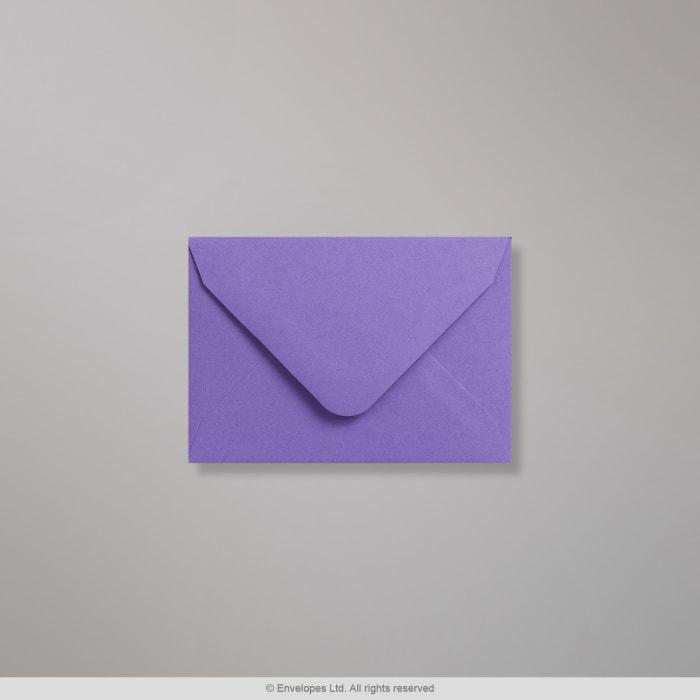 Clariana, purppuran värinen kirjekuori 65x94 mm