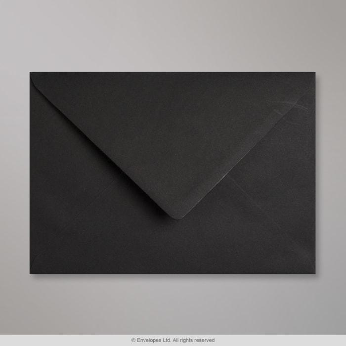 Schwarzer Clariana Briefumschlag 162x229 mm (C5)