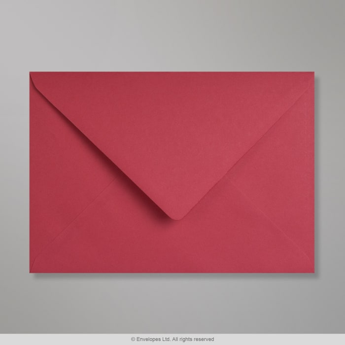 Enveloppe Clariana rouge éclatante 162x229 mm (C5)
