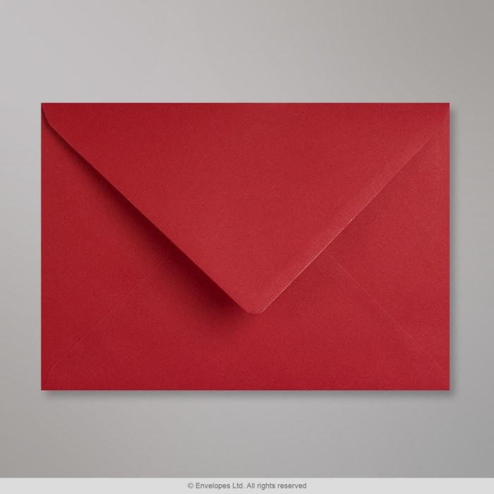 Enveloppe Clariana rouge foncée 162x229 mm (C5)