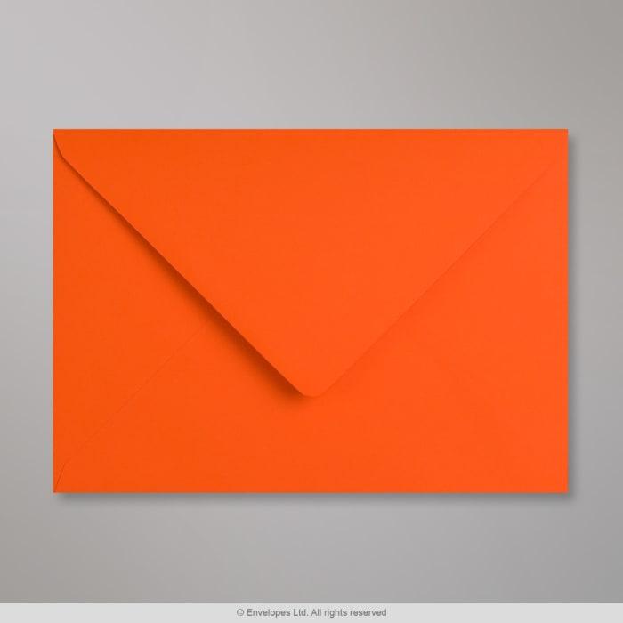 Orangefarbener Clariana Briefumschlag 162x229 mm (C5)