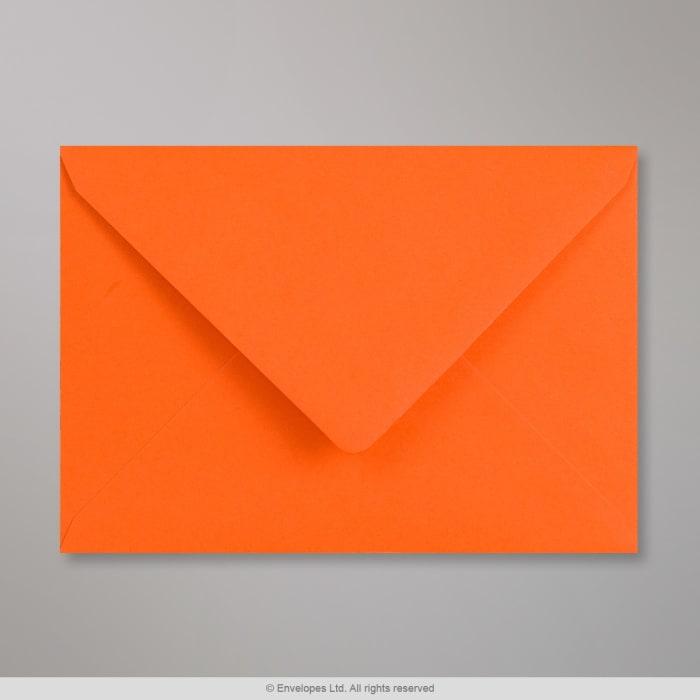 114x162 mm (C6) Oranžová obálka Clariana