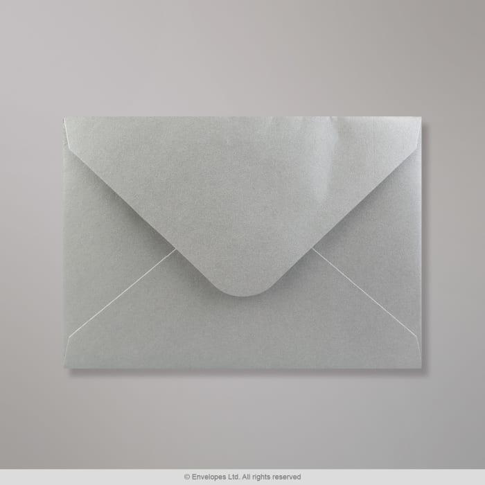 Enveloppe argentée 114x162 mm (C6)