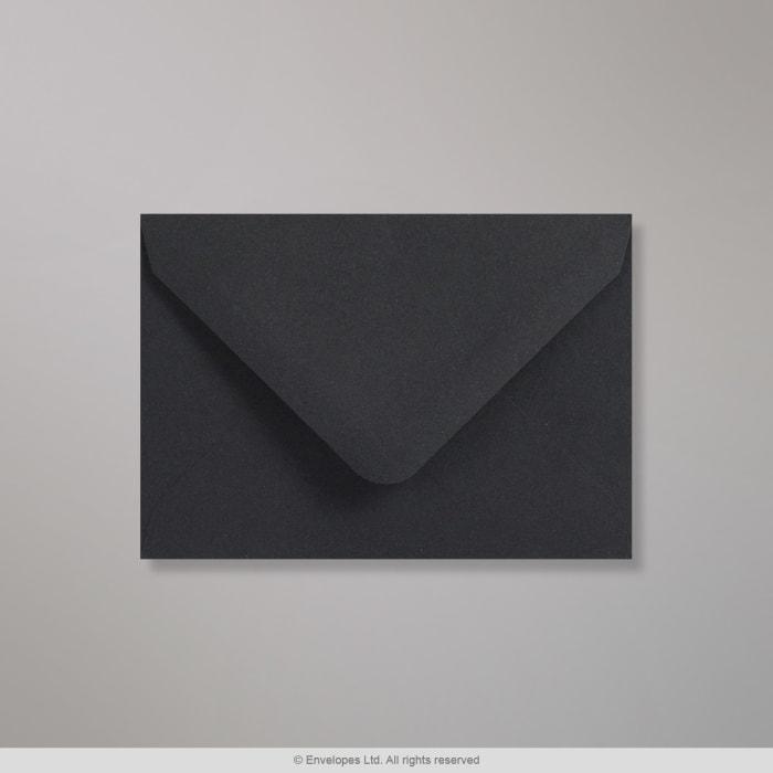 Clariana, musta kirjekuori 82x113 mm (C7)