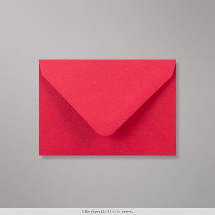 82x113 mm (C7) Koperta jasnoczerwona Clariana