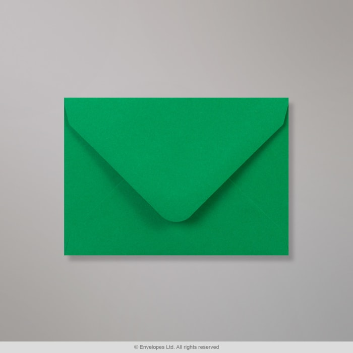 Enveloppe Clariana verte profonde 82x113 mm (C7)