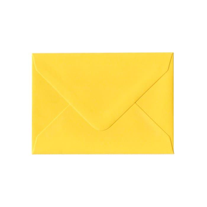 82x113 mm (C7) Koperta żółty Clariana