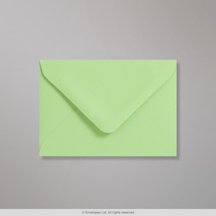 Sobre Clariana verde pastel de 82x113 mm (C7)