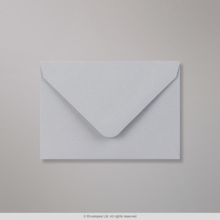 Svag grå Clariana-konvolut 82x113 mm (C7)
