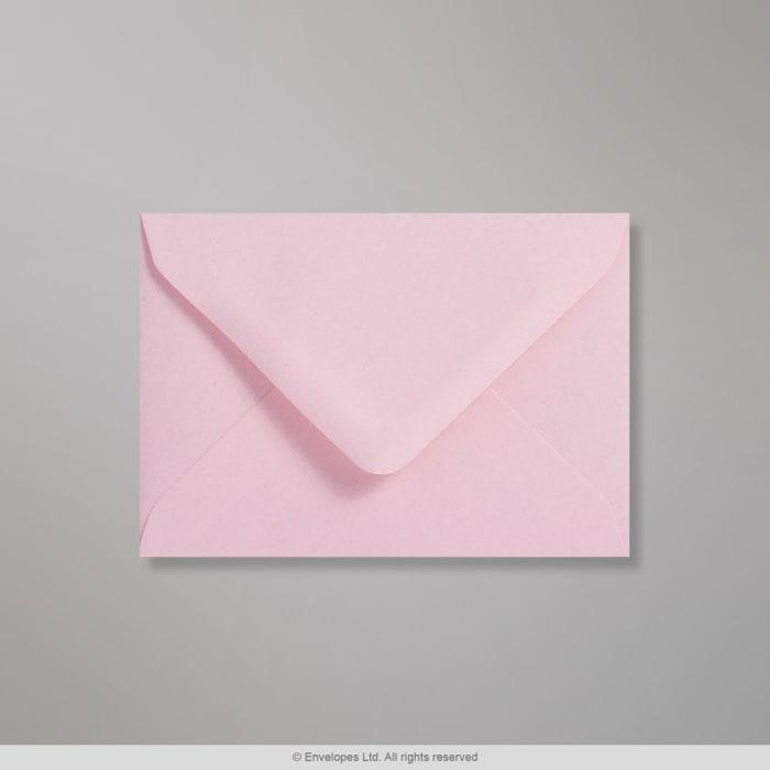 Clariana, haaleanvaaleanpunainen kirjekuori 82x113 mm (C7)