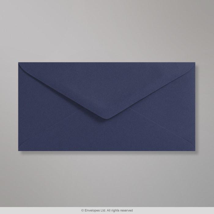 Dunkelblauer Clariana Briefumschlag 110x220 mm (DL)