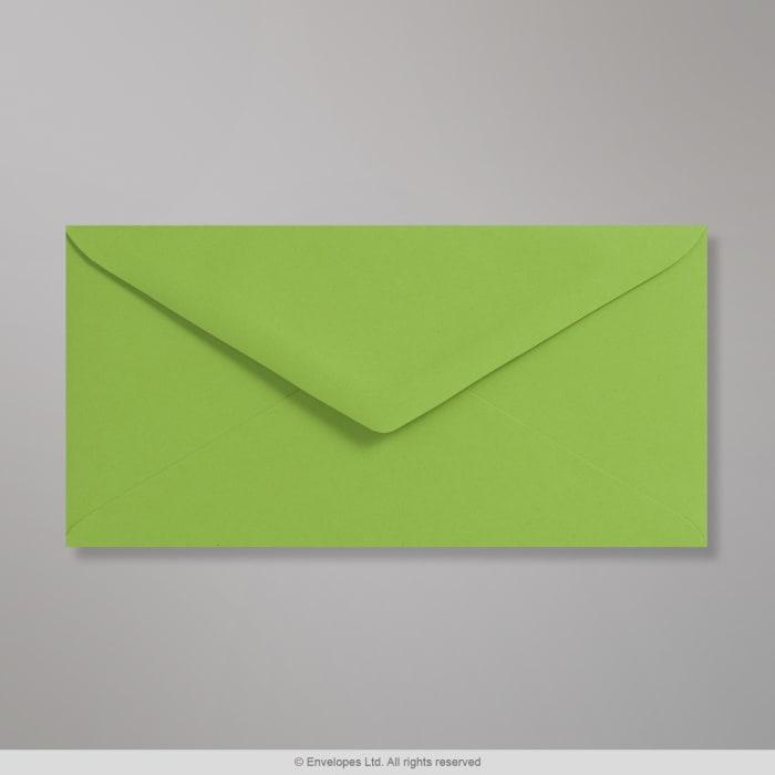 Enveloppe Clariana verte vive 110x220 mm (DL)