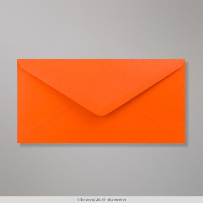 Orange Clariana-konvolut 110x220 mm (DL)