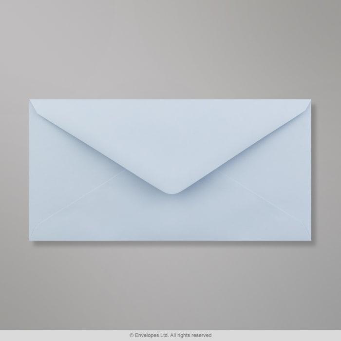 Pastellblauer Clariana Briefumschlag 110x220 mm (DL)
