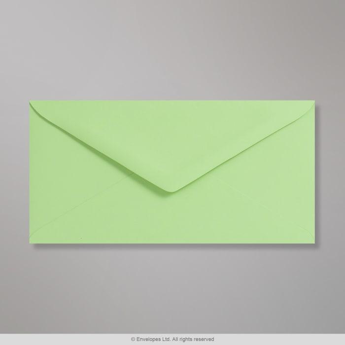 110x220 mm (DL) Pastelovo-zelená obálka Clariana